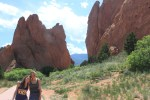 Hannah and Ellie at the Garden of the Gods