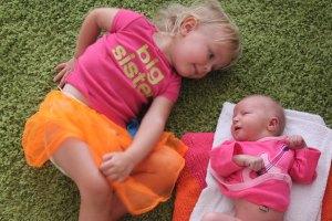 Sister sister diaper change