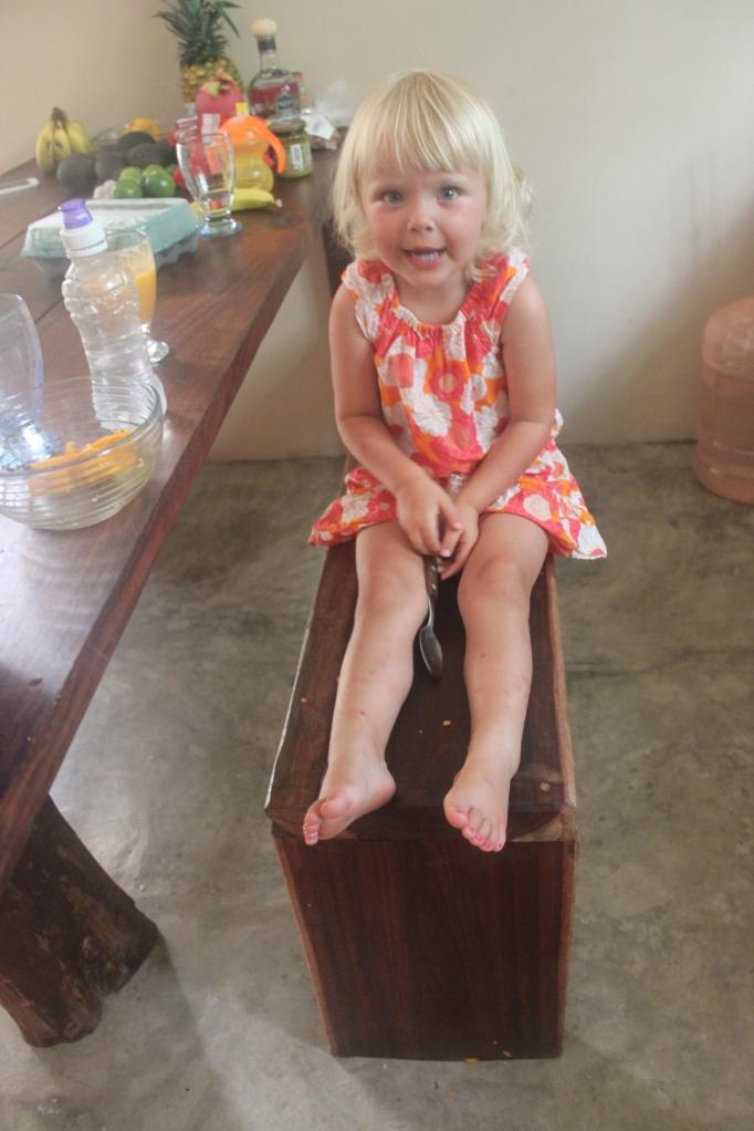 In our apartment in Tulum