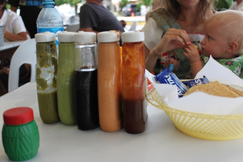 Salsas de Tacos! Mmmmmmm