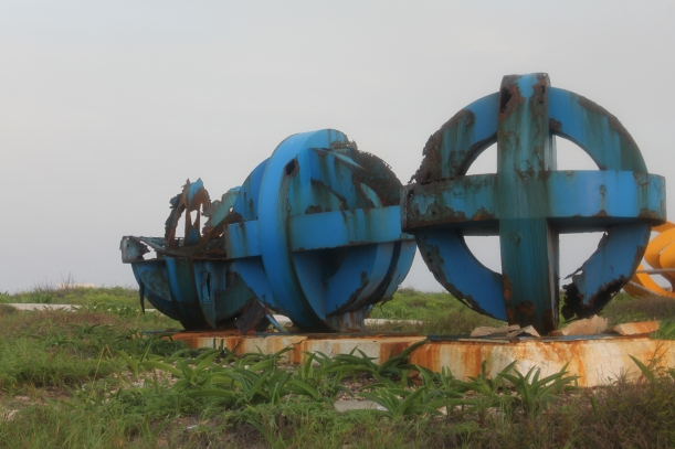 Sculpture garden / Punta Sur