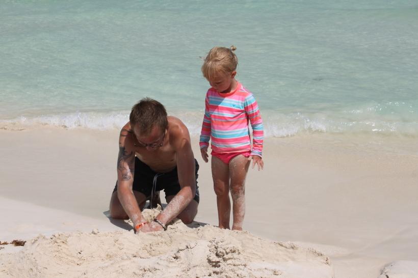 Building sand castles