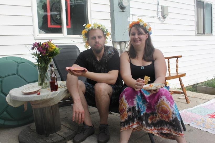 My fairy bro and his cool fairy girlfriend, Melanie