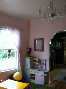 "I'm sad to say our previous renters didn't appreciate pink nearly as much as I do and the ""pink room"" is now grey..."